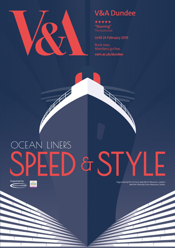 Ocean Liners - Speed and Style - Poster