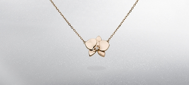Caresse d'Orchidées par Cartier Necklaces