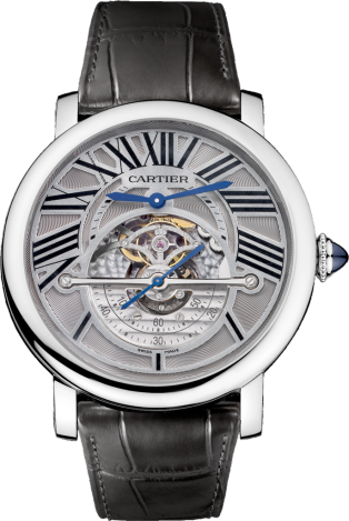 Rotonde de Cartier Astrorégulateur 天體恒定重心裝置腕錶
