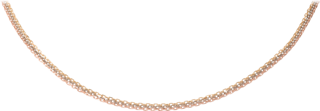 Chain necklaceWhite gold, yellow gold, rose gold