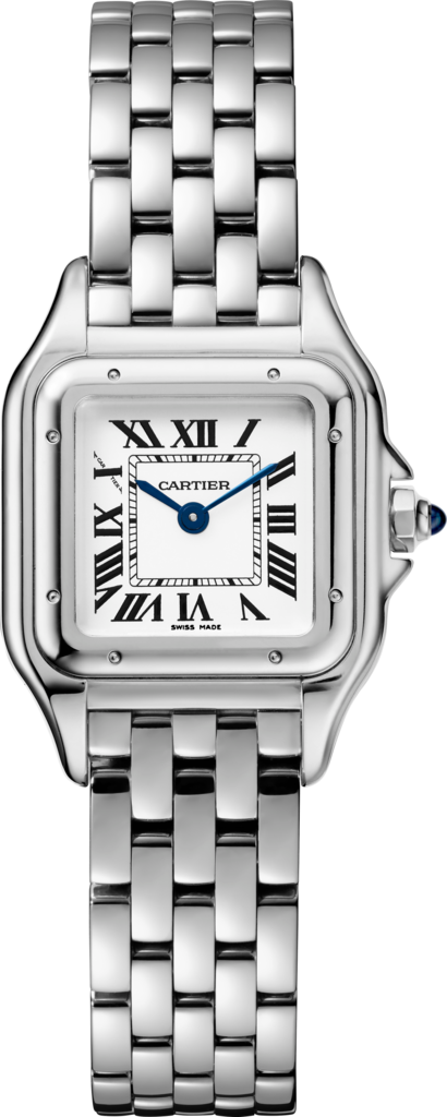 Panthère de Cartier watch, small modelSmall model, steel