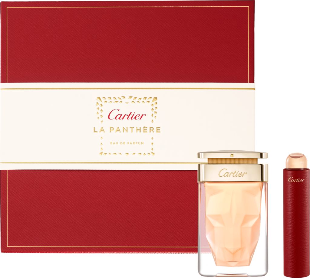 La Panthère Eau de Parfum gift set and Purse sprayBox