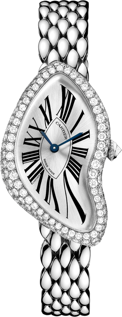 Crash watchWhite gold, diamonds